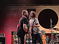 Pearl Jam ( Stone & Jeff ) Oslo 2012