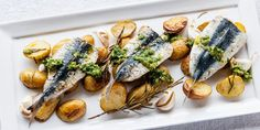 .@shaundhill has just the dish for a summer's evening: sardines, Jersey Royals & salsa verde http://togbc.com/1LHJ2Pp