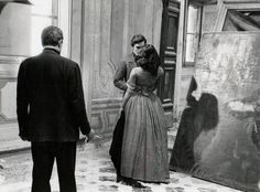 Photo originale Visconti Alain Delon Claudia Cardinale Il gattopardo tournage   eBay