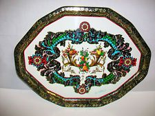 Daher Decorated Ware Tray Made In England Daher Decorated Warepritchard Metal Tin Tray  Definitely