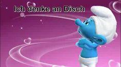 Ich denke Tag und Nacht an Dich :) ♥♥ Schlumpf & Schlumpfine - Smurf Zum ♥#Valentinstag #Video♥Gruß an die #Liebe kostenlos schicken App von #Zoobe ♥
