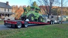 Iron Mountain, Heavy Equipment, New England, Transportation, Trucks, Truck