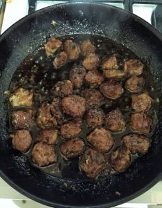Scallion Meatballs With Soy-Ginger Glaze Recipe — Dishmaps