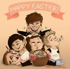 Easter is over now but this is cute