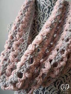 Love is in the Air Valentines Day Cowl Oombawka Design