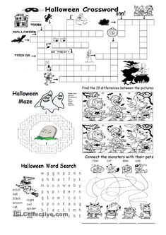 Halloween Different games