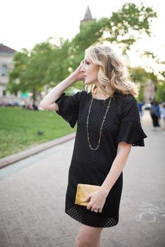 summer mesh LBD with