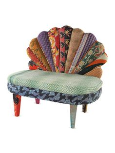 Peacock Love Chair by Karma Living