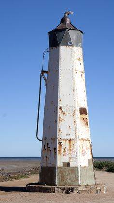 Port Germein Lighthouse, South Africa- by creolumen