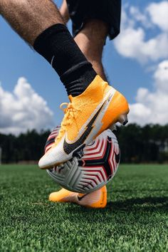 """Shining on the scene⚡️ New: Nike """"Daybreak"""" Mercurial Superfly — Available now - tap to 🛒 from SOCCER.COM. — #soccerdotcom #nikefootball #nike #mercurial #superfly #soccer"""