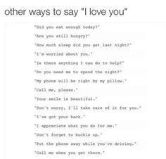 """""""I LOVE YOU"""" is more than 3 words."""