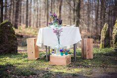 Shooting Mauve & Mint florals http://wildflowerfairy.com/