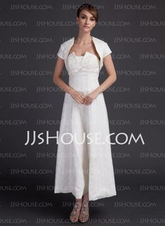 Mother of the Bride Dresses - $124.69 - A-Line/Princess Strapless Ankle-Length Satin Lace Mother of the Bride Dresses (008015902) http://jjshouse.com/A-line-Princess-Strapless-Ankle-length-Satin-Lace-Mother-Of-The-Bride-Dresses-008015902-g15902