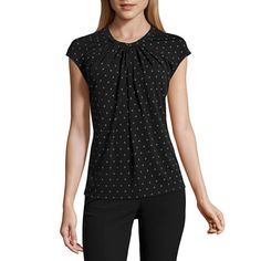 FREE SHIPPING AVAILABLE! Buy Worthington® Cap-Sleeve Twist-Front Top at JCPenney.com today and enjoy great savings.