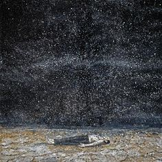 Anselm Kiefer - so beautiful, vast and detailed. i had the pleasure of seeing sternenfall (1998) at the blanton museum in austin, and it was by far my favorite piece there. i could have stared at it for hours - you feel so small before his work.