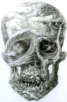 Skulls - Now this would be a sick tattoo