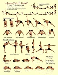 Ashtanga yoga primary sequence