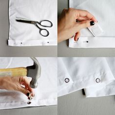 Make Your Own Outdoor Curtains!
