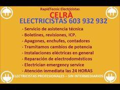 Electricistas CELRÀ 603 932 932 Baratos