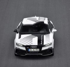 RS7 Piloted Driving.