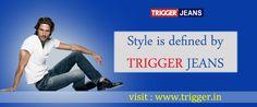 Buy your branded jeans at online  visit : www.trigger.in