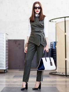 Tip of the Day: An Office-Appropriate Matching Set via @WhoWhatWear