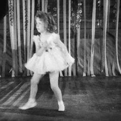 Shirley Temple dancing