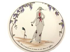 Salad Plate, Design 1900, Villeroy and Boch, Luxembourg, Stylish Tableware, Gift For Her