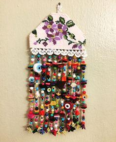 DÜKKAN ESEN'CE Mosaic Art, Bead Art, Dream Catcher, Textiles, Wool Embroidery, Fall Harvest, Christmas Images, Wind Chimes, Handmade Gifts