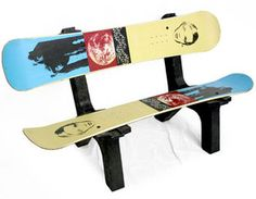 Sit down please... on a snowboard bench ;-)  #snowboard