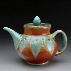 Charity Davis Woodard teapot.