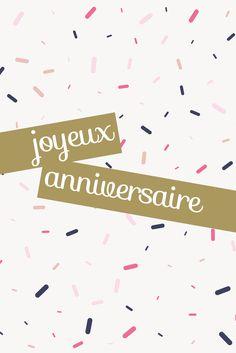anniversaire Graphic, Happy Birthday, Home Decor, Wrapping, Cards, Happy Brithday, Decoration Home, Room Decor, Urari La Multi Ani