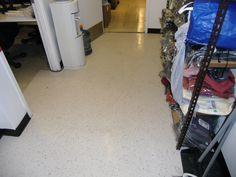 VCT flooring install..