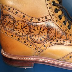 Shoe Tattoos, All Tattoos, Real Tattoo, Tattoo You, Shoe Boots, Shoes, Leather, Accessories, Clothes