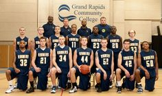 Grand Rapids Community College's men's basketball team advanced into the National Junior College Athletic Association Division II tournament for the second time in its history in 2010.