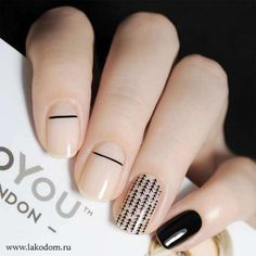 Check out our short acrylic nails ideas for the best acrylic nail colors such as light pink, yellow and more to get the perfect manicure that you are dreamt of! Stylish Nails, Trendy Nails, Essie, Ongles Beiges, Colorful Nail, Nail Polish, Minimalist Nails, Gorgeous Nails, Diy Nails