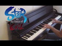 Star vs. the Forces of Evil - Theme / Blood Moon Waltz - Piano - YouTube