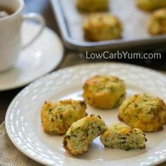 Zucchini Drop Biscuits with Cheese. Zucchini Drop Biscuits with Cheese Recipes Not sure what to do with your summer zucchini crop? Why not give these low carb biscuits with zucchini and cheese a try? Lowest Carb Bread Recipe, Low Carb Bread, Keto Bread, Free Keto Recipes, Low Carb Recipes, Bread Recipes, Atkins Recipes, Flour Recipes, Simple Recipes