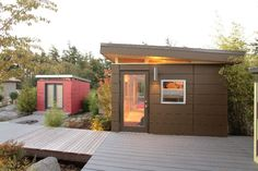 modern prefab shed would be a perfect studio!