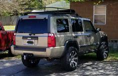 "3"" lift 06' Jeep Commander Jeep Suv, Jeep Truck, Jeep Commander Lifted, Road Bike Accessories, Pick Up 4x4, Ford Maverick, Jeep Patriot, Cool Jeeps, Jeep Liberty"