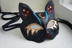 I found 'Gobbolino the Witches Cat - Leather Cat Mask' on Wish, check it out!