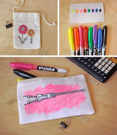 Tried & Tested: Fabric Sharpie Markers How About Orange