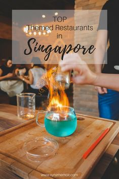 Really cool restaurants in Singapore!