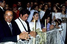 Isabel Pantoja Boda con Paquirri - El día de su boda con Francisco Rivera 'Paquirri'. El matador y la tonadillera se casaron en 1983, en Sevilla, después de que él hubiera obtenido la anulación de su matrimonio con Carmina Ordóñez.