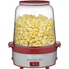 It's easier than ever to pop crunchy homemade popcorn with the Cuisinart EasyPop Popcorn Maker, available at the Food Network Store.
