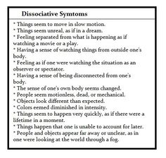 Dissociative disorder