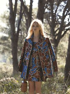 Eva Biechy for Cosmopolitan France September 2015 - Marni