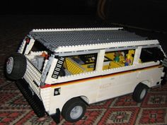 Just some updates for my westy to convert this into syncro. Lego Camper, Camper Van, Vw T3 Westfalia, Patrick Starr, Lego Models, Lego Creations, Offroad, Volkswagen, Type