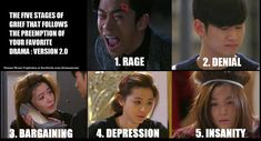 5 stages of grief My Love From Another Star or You Who Came From The Stars Weird Songs, My Love From Another Star, Best Kdrama, Playful Kiss, Drama Funny, Stages Of Grief, Kdrama Memes, Korean Actors, Korean Dramas