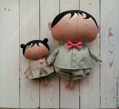 Купить Малышка Sweetheart Doll - мятный, тильда, кукла текстильная, кукла Тильда, милая кукла